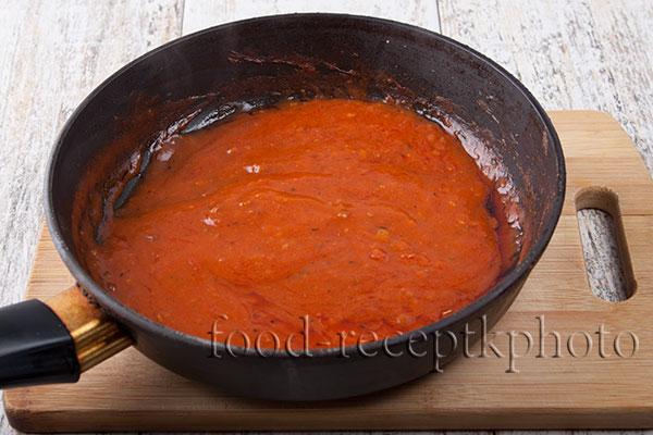Томатный соус для котлет