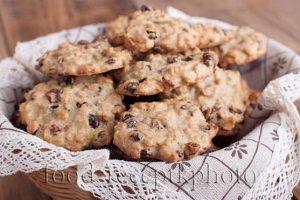 Овсяное печенье с барбарисом