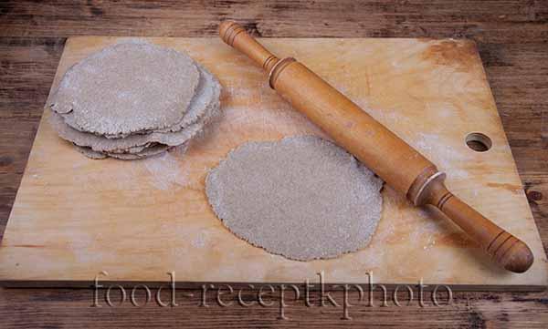 Тесто для северных калиток