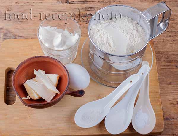 Ингредиенты для картофельных шаньег