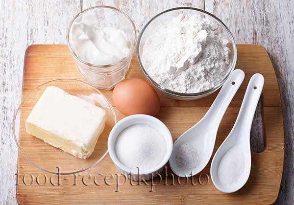 Ингредиенты для приготовления калачей