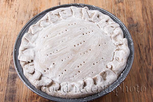 Ржаной луковый пирог