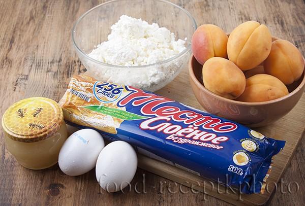 Ингредиенты для пирога с абрикосами