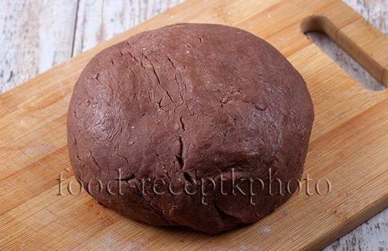 На фото комок теста для печенья