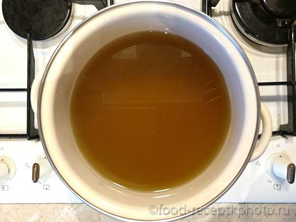 Настой из одуванчиков для приготовления сиропа