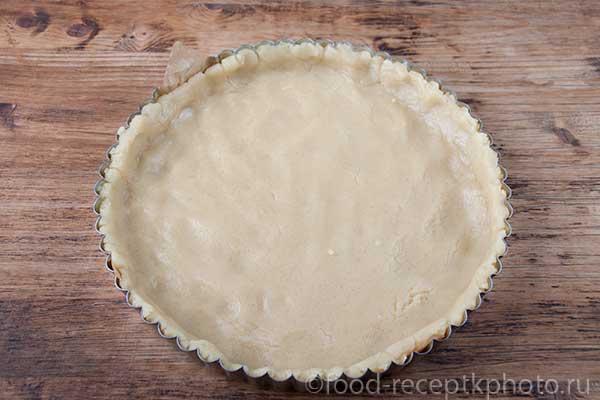 тесто для пирога в форме